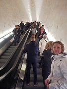 Rolltreppe in der Elbphilharmonie