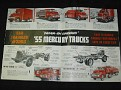 1955 Mercury Truck Full Line Catalog Sales Brochure 4