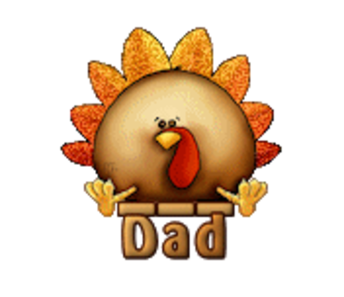 Dad - ThanksgivingCuteTurkey