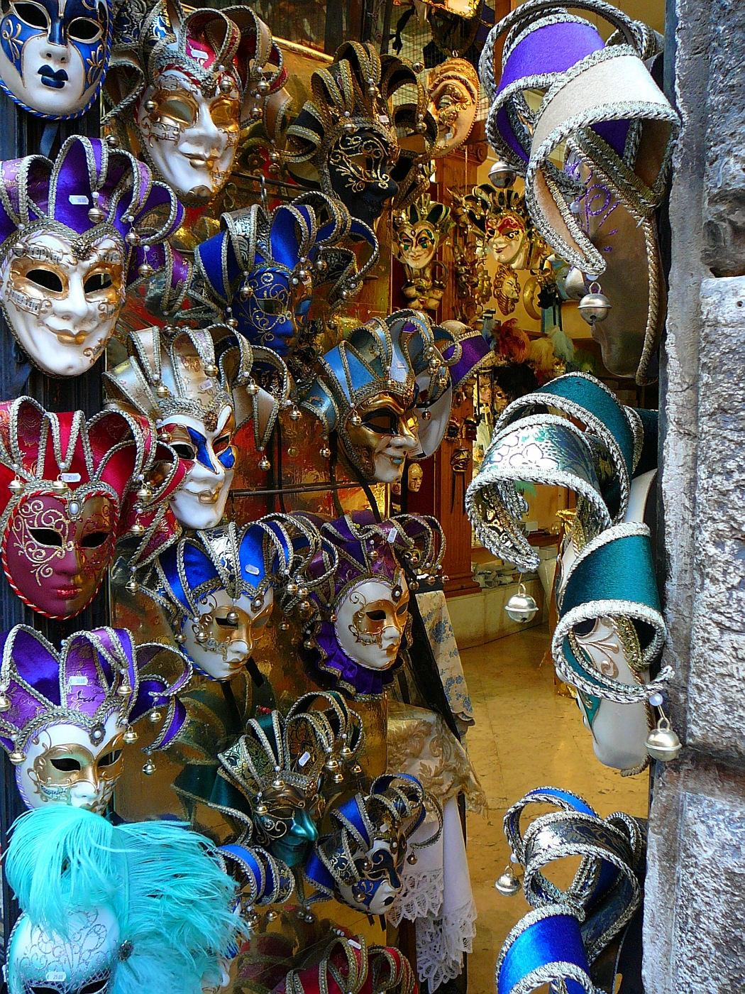 Shelly just loved these masks