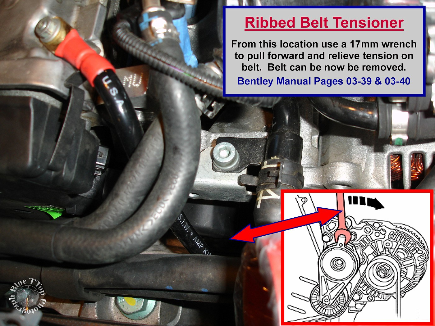Timing Belt Replacement Writeup With 61 Pictures And 44 Steps