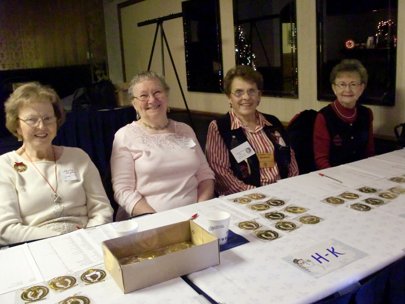 Shirley Hogan, Flo Klingler, Betty Dial, Ann Hill