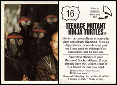 Teenage Mutant Ninja Turtles Movie Sticker #016