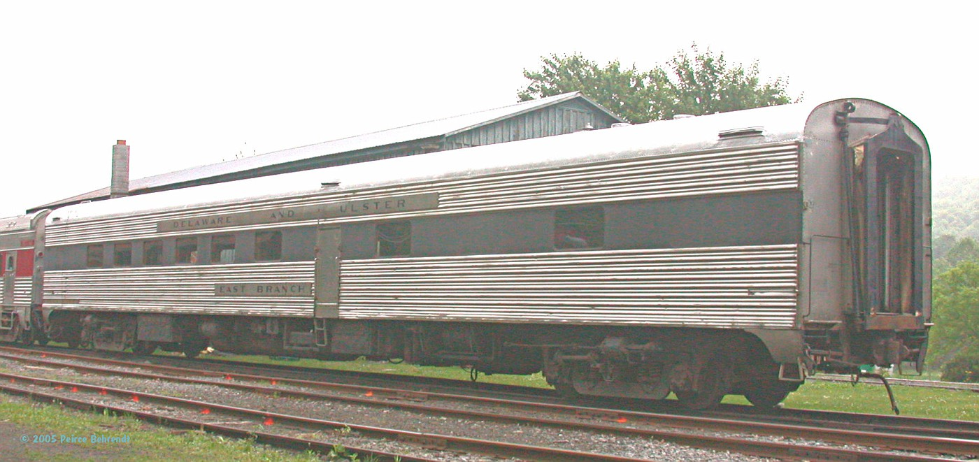 """Delaware & Ulster dining car """"East Branch"""""""