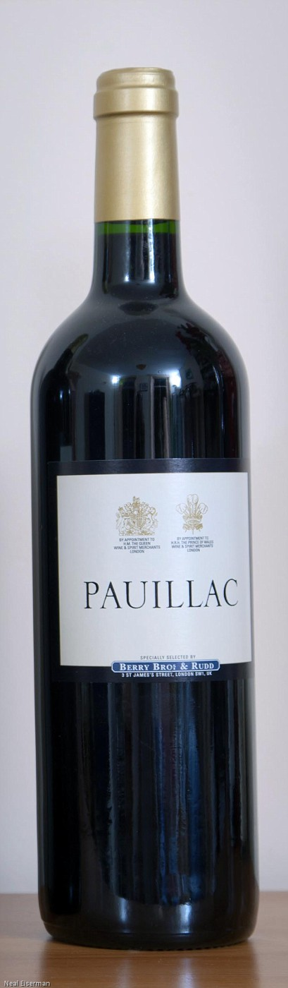 Berry Bros  & Rudd Berry's Own Selection Pauillac 2008