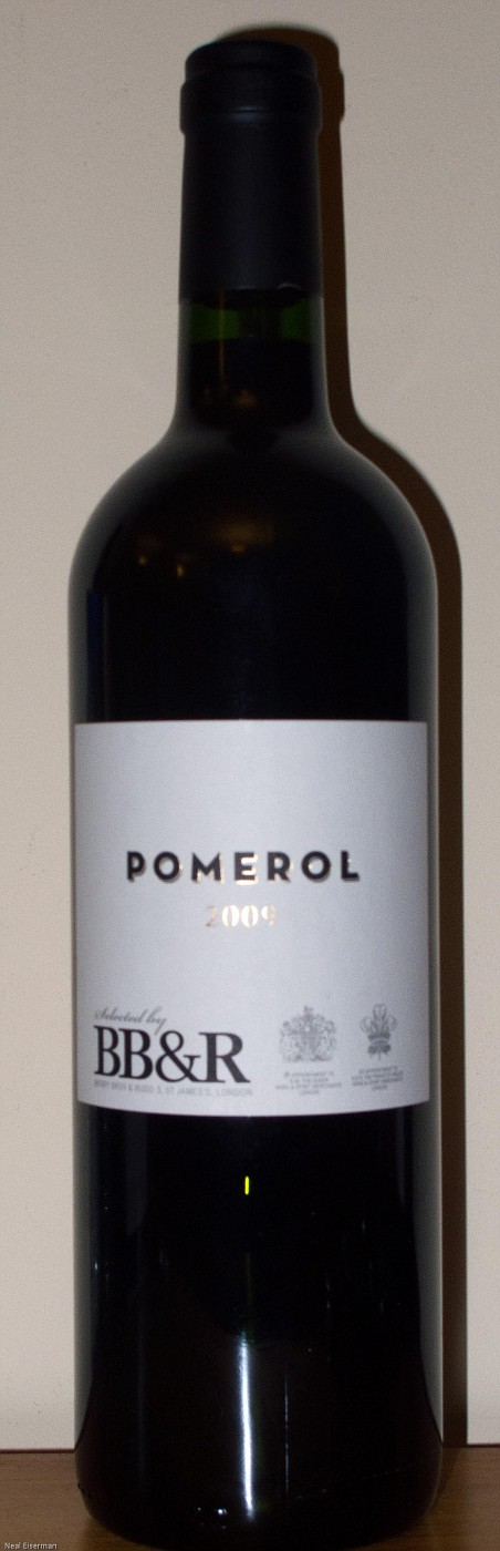 Berry Bros  & Rudd Berry's Own Selection Pomerol 2009 001