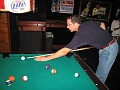 Shooting some pool a few doors down from the Elbow Room in Ft. Lauderdale, Florida