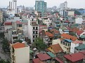 View from my room at the Thien Thai Hotel in Hanoi, Vietnam