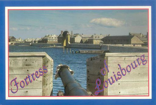 Canada - FORTRESS OF LOUISBOURG