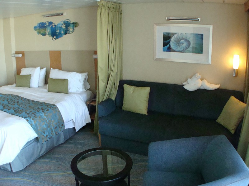 Junior Suite Cabin on DECK 11