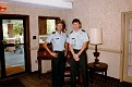 MSG. E. Ray Austin and 1LT. Steve Dunn. Between 1985-1987.