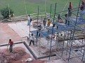 Work continues on the Humayun Tomb and Grounds.