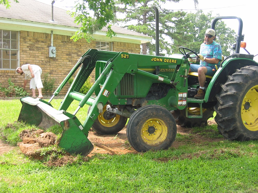 This is how we cut grass in East Texas