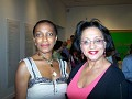 Ms Myrtho Celestin and PR Rachel Denis