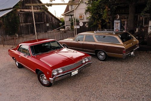1967 Chevrolet Chevelle L79 hardtop and station wagon 5400px