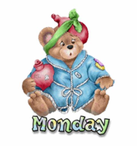 DOTW Monday - BearGetWellSoon