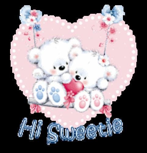 Hi Sweetie - ValentineBearsCouple