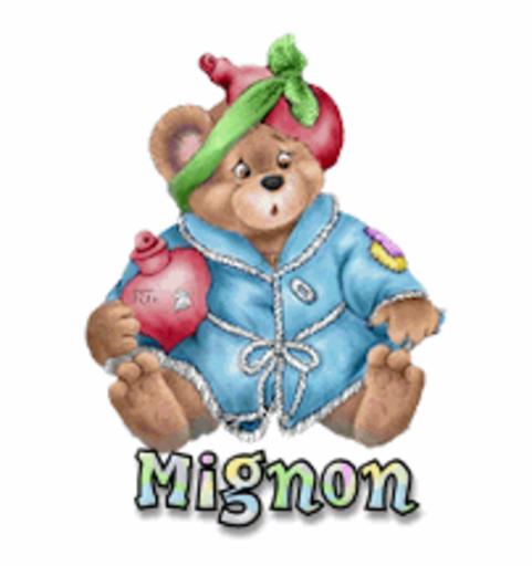 Mignon - BearGetWellSoon
