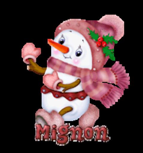 Mignon - CuteSnowman