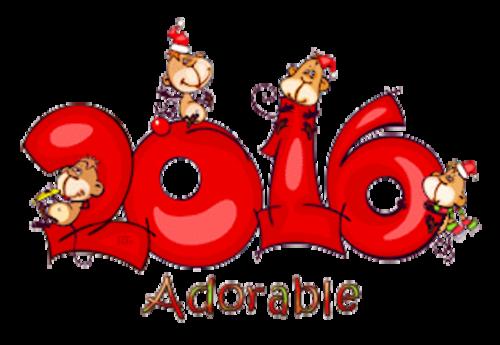 Adorable - 2016WithMonkeys