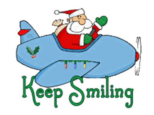 Keep Smiling - SantaPlane