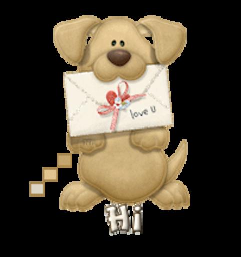 Hi - PuppyLoveULetter