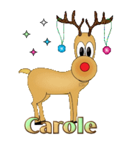 Carole - ChristmasReindeer