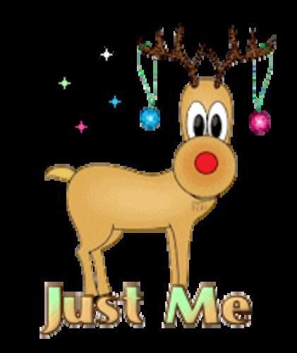 Just Me - ChristmasReindeer