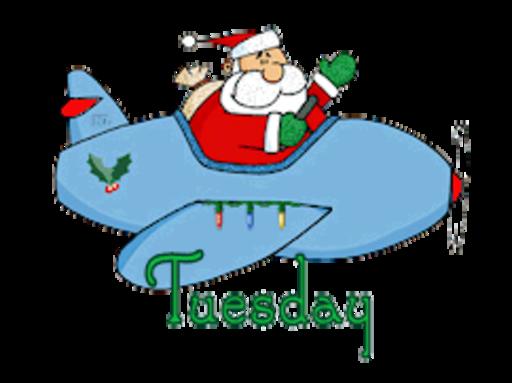 DOTW Tuesday - SantaPlane