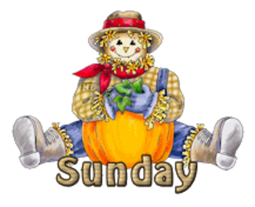 DOTW Sunday - AutumnScarecrowSitting