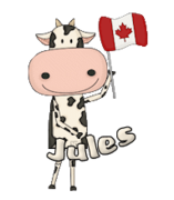 Jules - CanadaDayCow