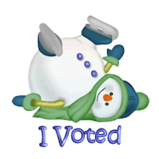 I Voted - CuteSnowman1318
