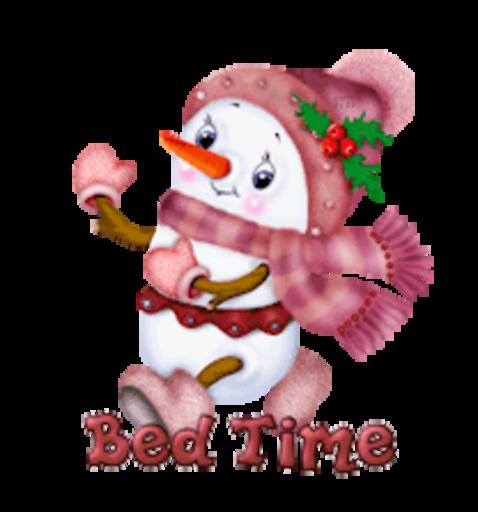Bed Time - CuteSnowman