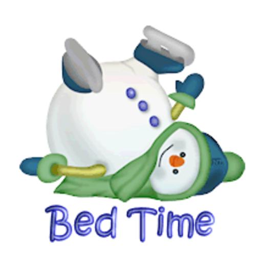 Bed Time - CuteSnowman1318