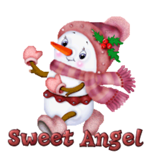 Sweet Angel - CuteSnowman