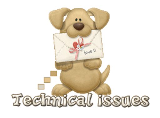 Technical issues - PuppyLoveULetter