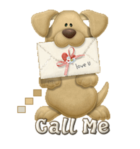 Call Me - PuppyLoveULetter