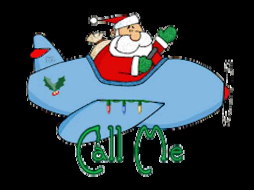 Call Me - SantaPlane