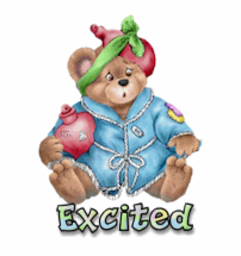Excited - BearGetWellSoon
