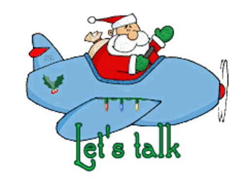 Let's talk - SantaPlane