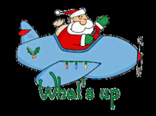 What's up - SantaPlane