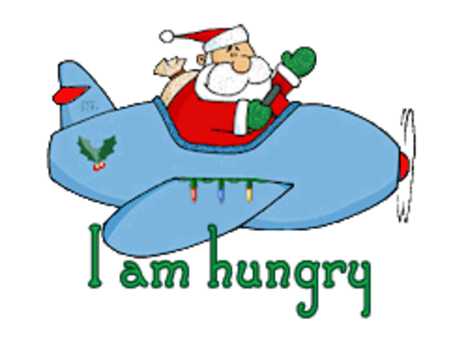 I am hungry - SantaPlane
