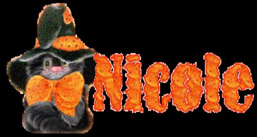 Nicole - cute black cat  by Rottlover dena