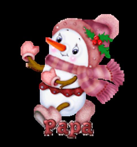 Papa - CuteSnowman