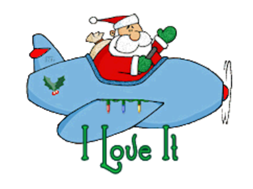 I Love It - SantaPlane