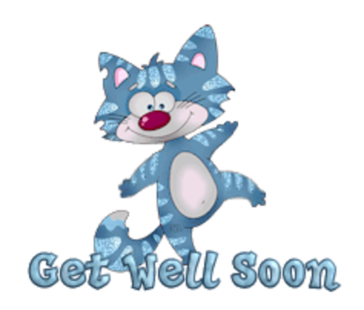 Get Well Soon - DancingCat