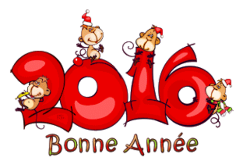 Bonne Annee - 2016WithMonkeys