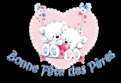 Bonne Fete des Peres - ValentineBearsCouple