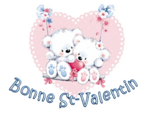 Bonne St-Valentin - ValentineBearsCouple