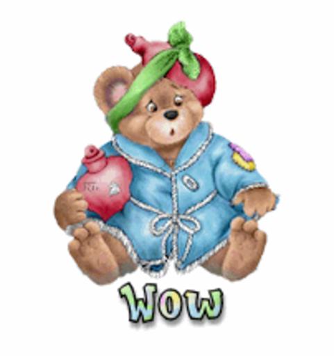 Wow - BearGetWellSoon